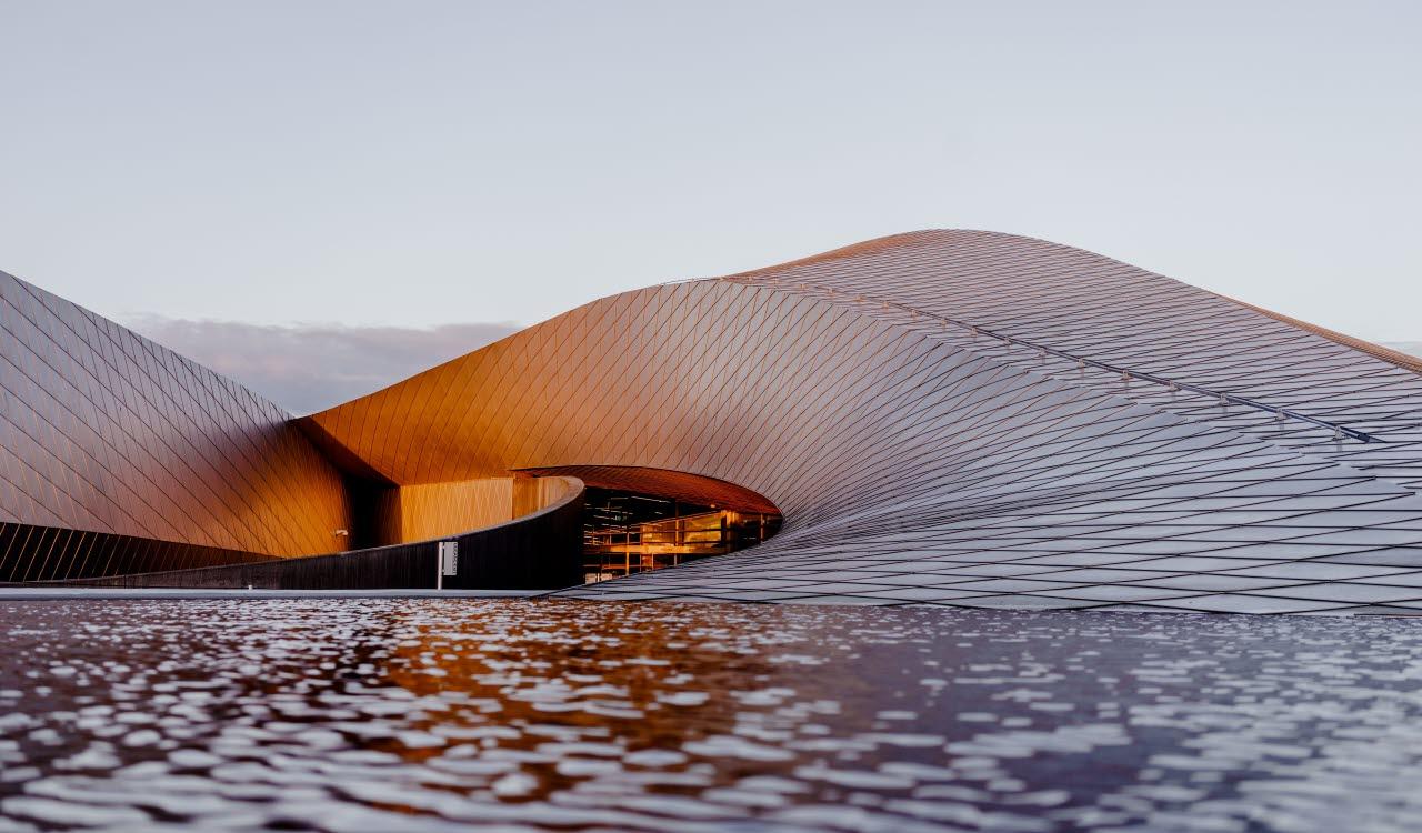 Modern building, Denmark