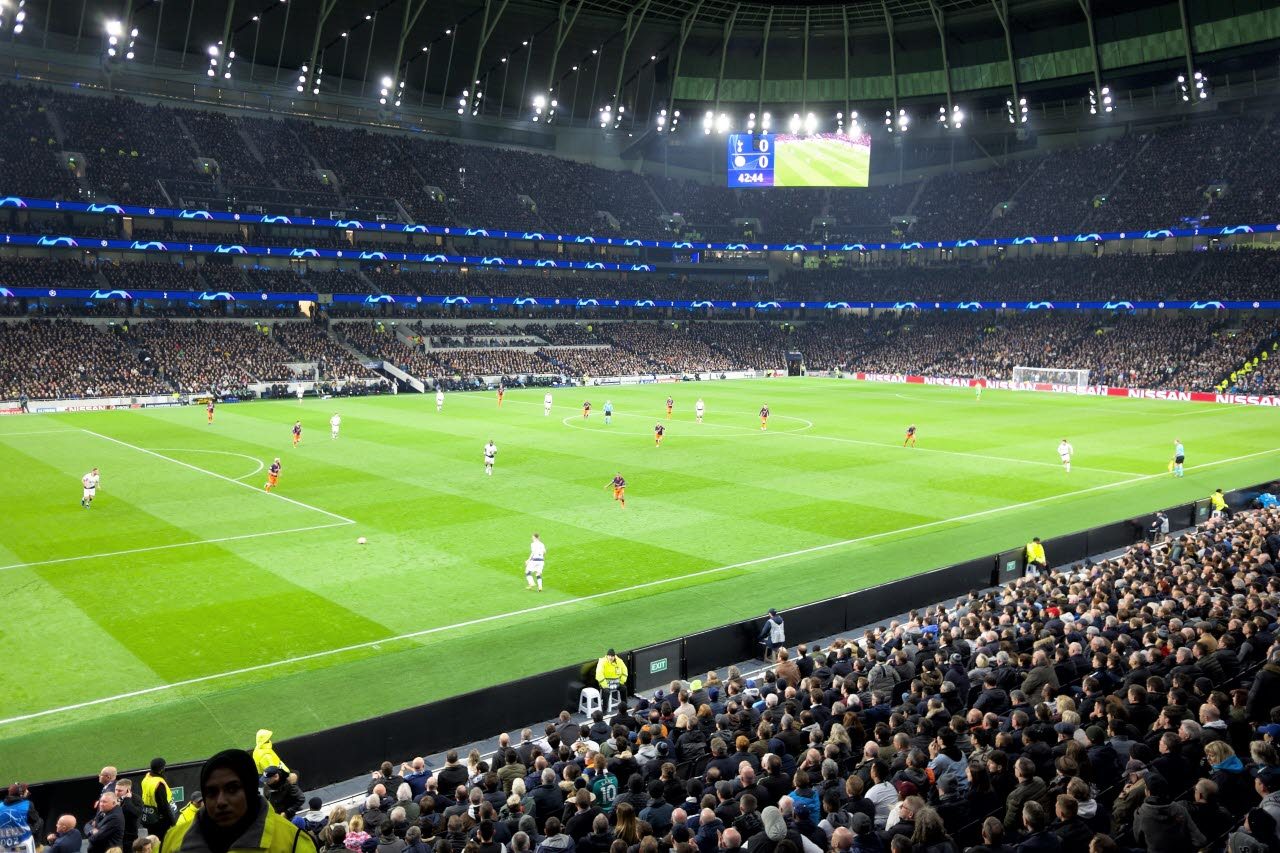 Tottenham football stadium