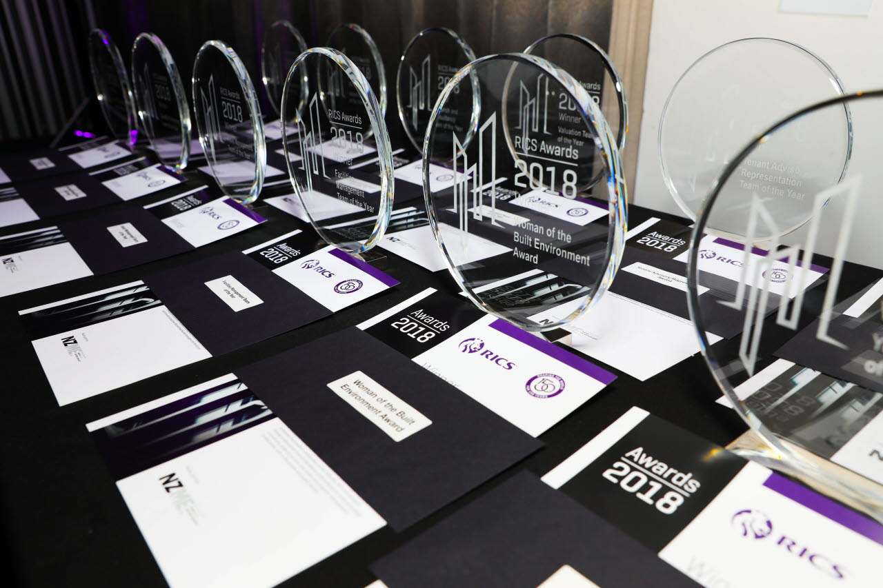 RICS awards, RICS Awards 2018 New Zealand