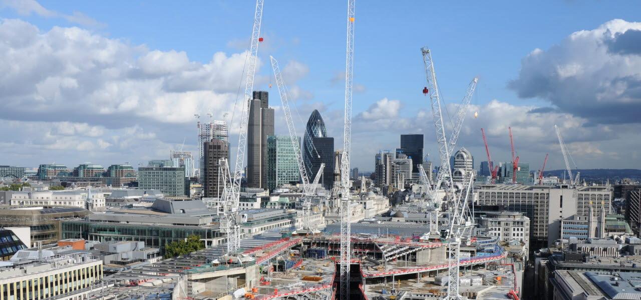 construction site, buiding, london, RICS, 230118, SB