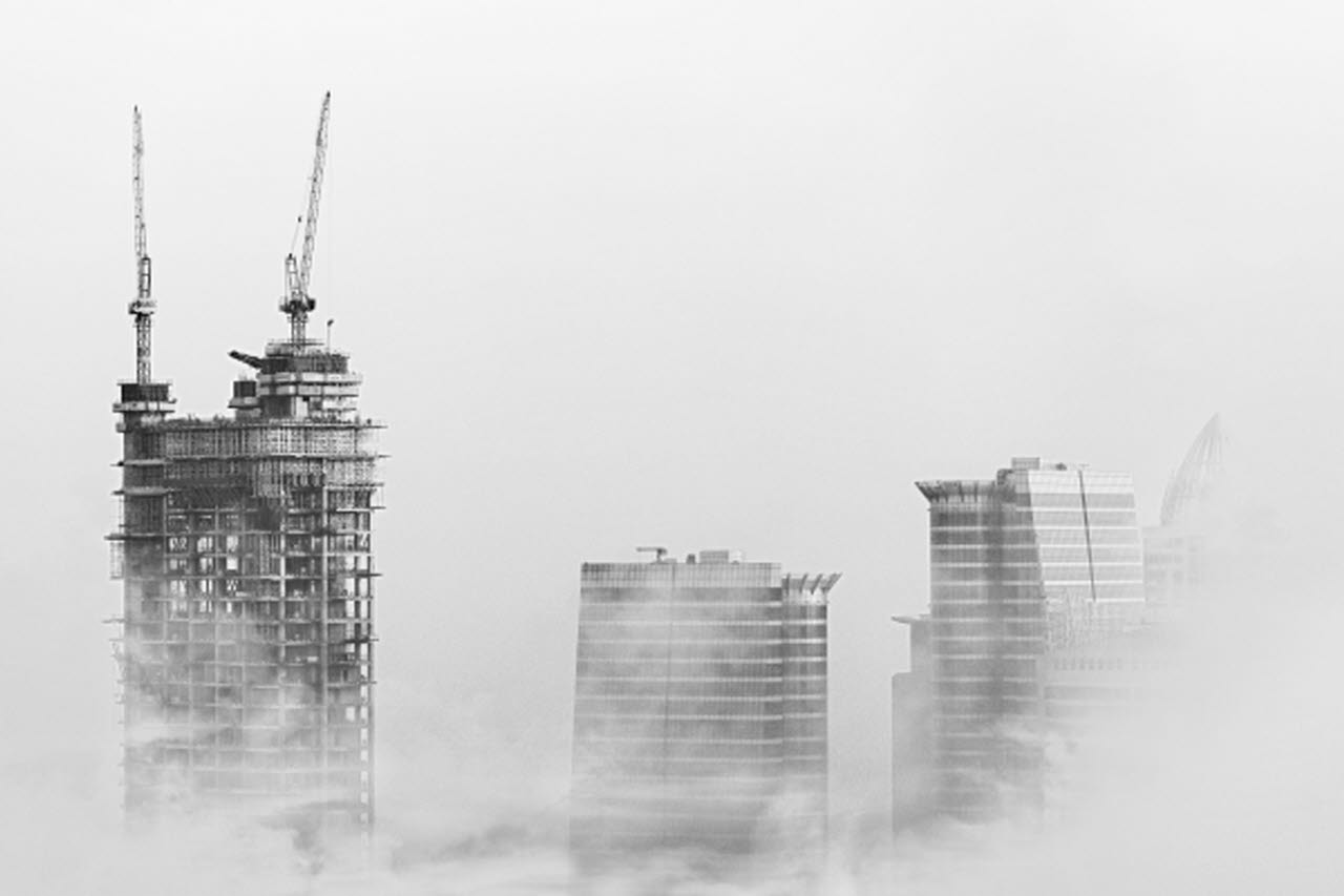Construction towers