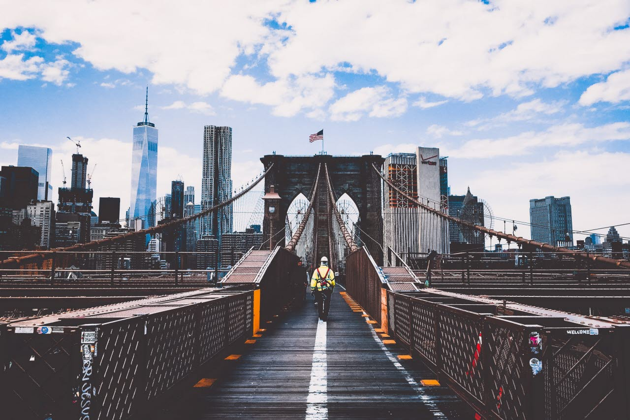 Brooklyn Bridge, New York, pexels, 090718, mb