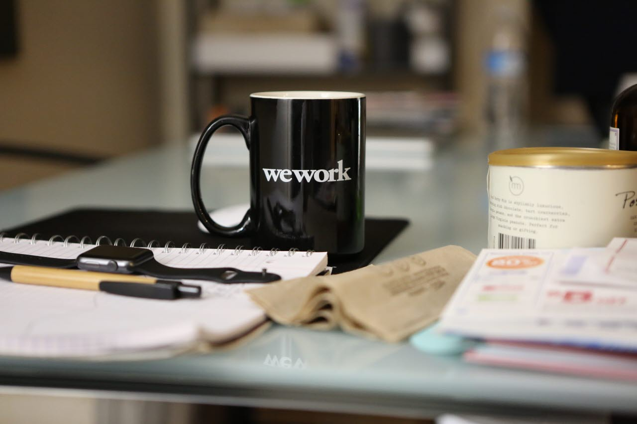 wework coffee mug-unsplash