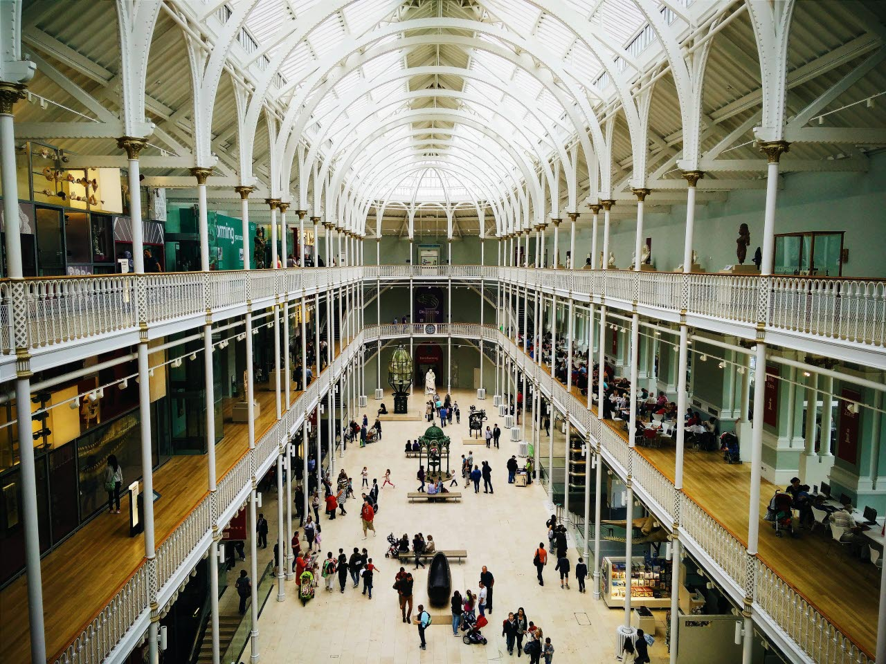 Edinburgh shopping centre
