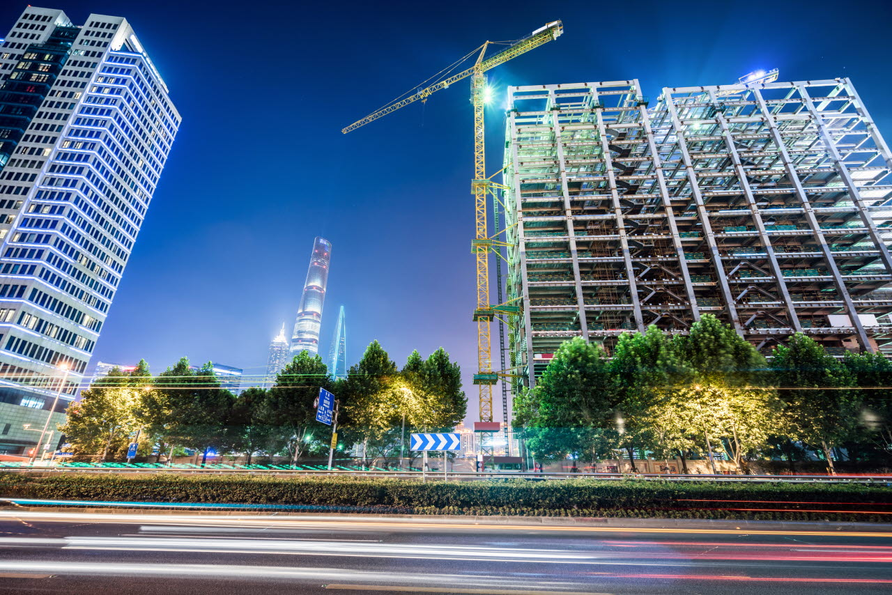 building, abstract, night, RICS, 230118