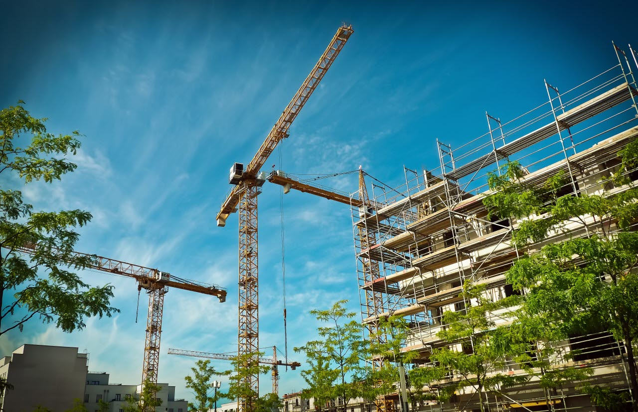 Construction- crane