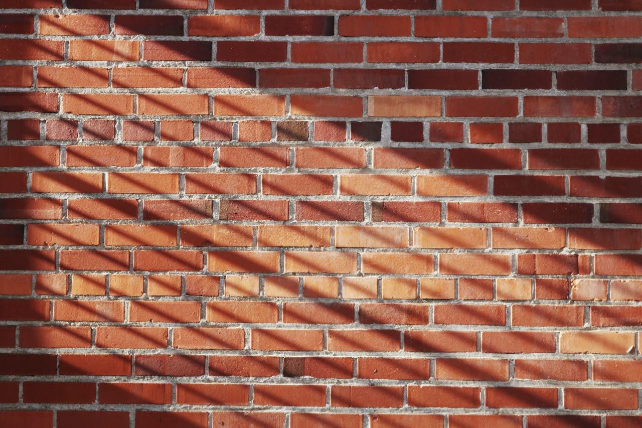 Sunlit bricks