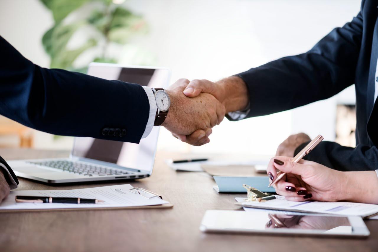 Handshake, mediation