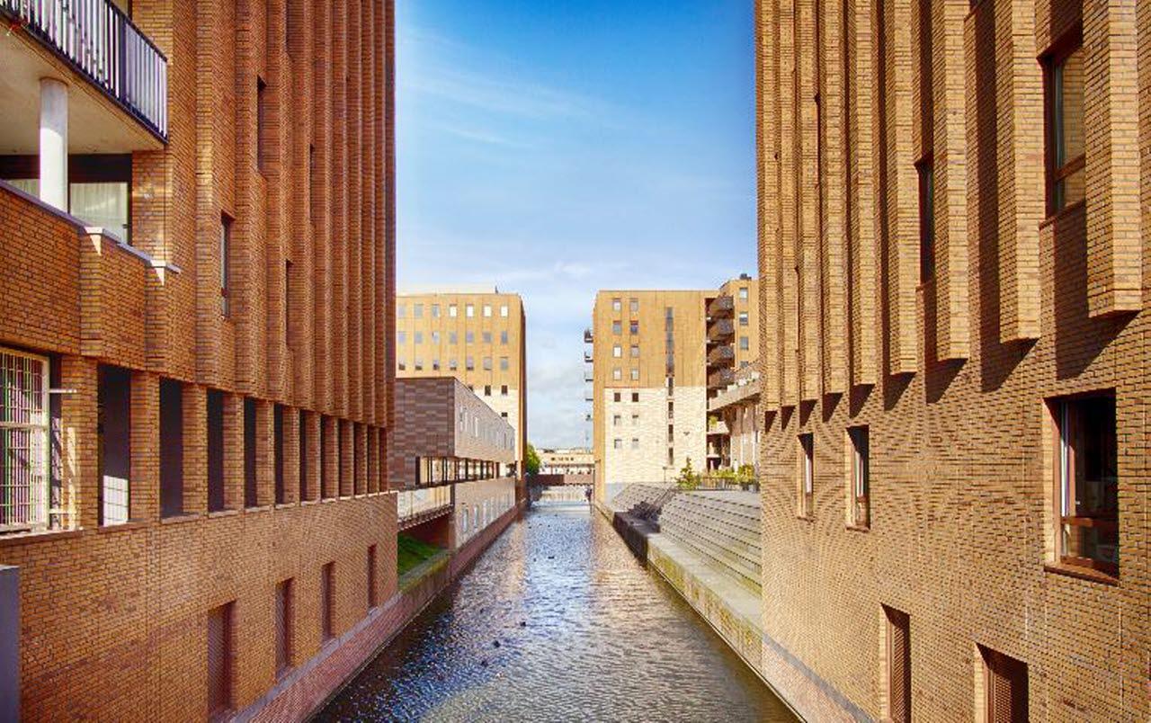Bricks buildings