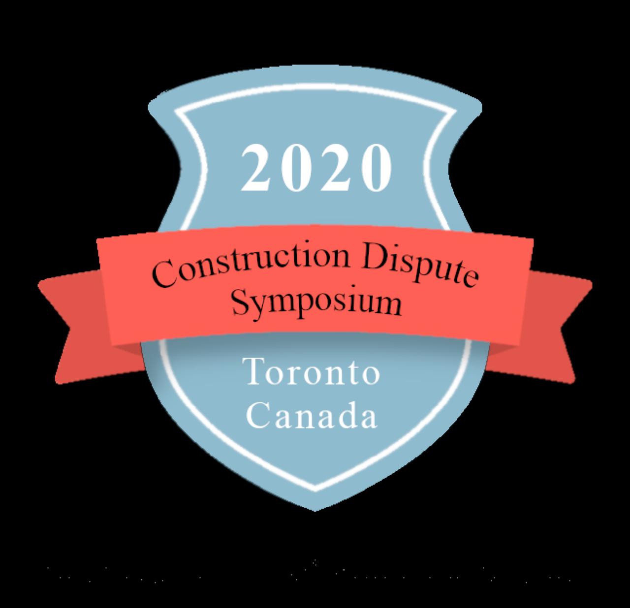 Construction Dispute Symposium