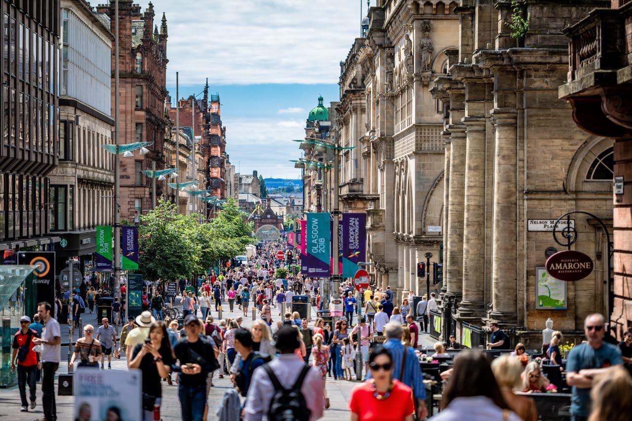 Glasgow high street-unsplash