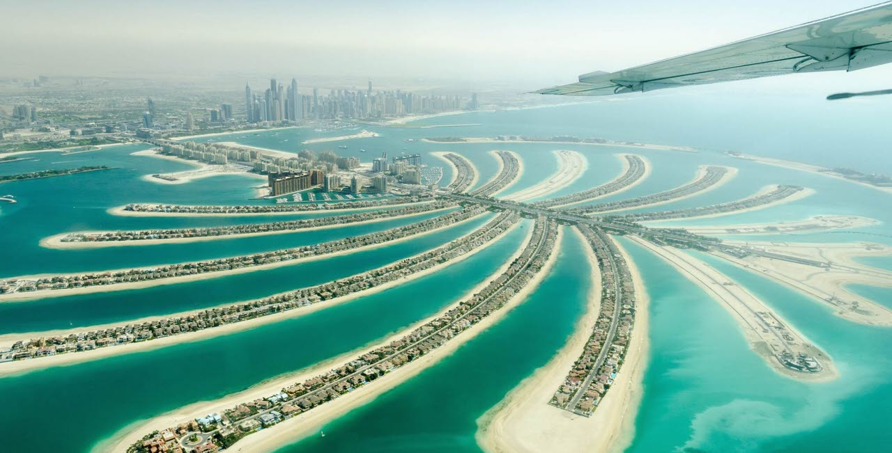 The Palm Jumeirah, Dubai, 020518