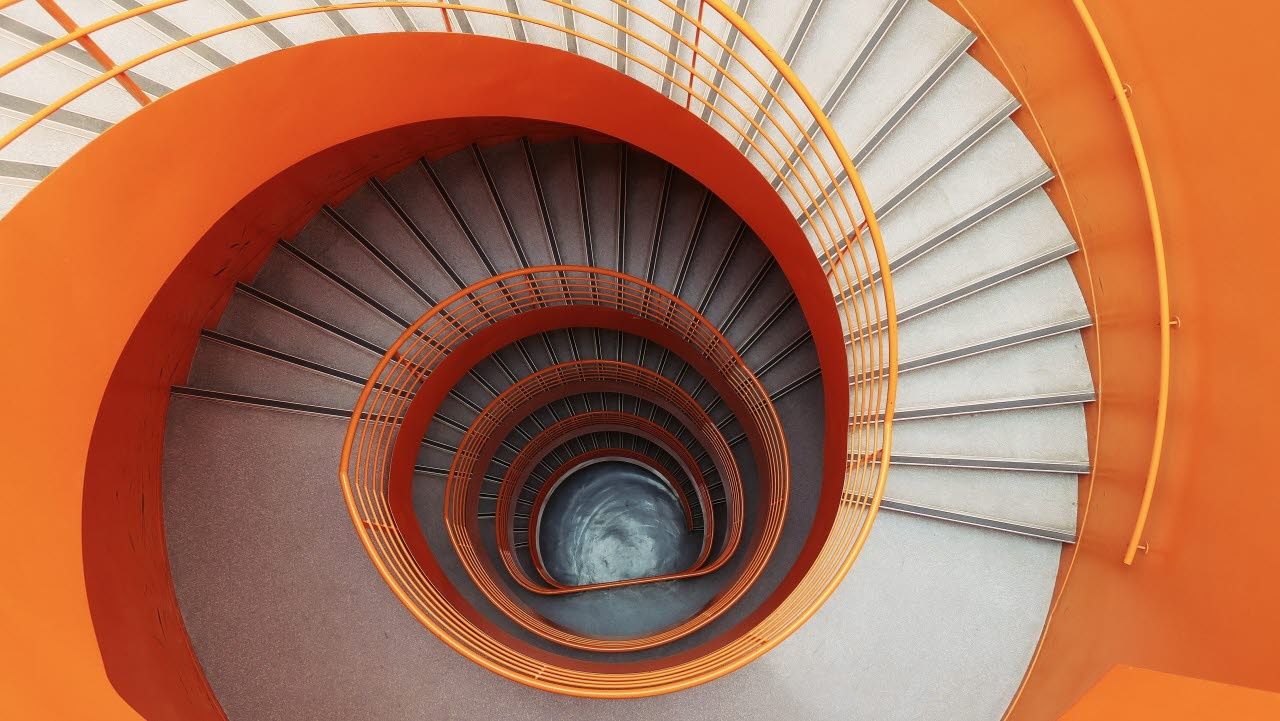 Orange, stairs, 100918, AB