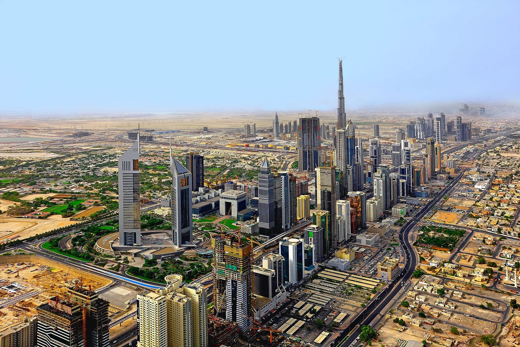 Dubai, skyline, 020518, mb