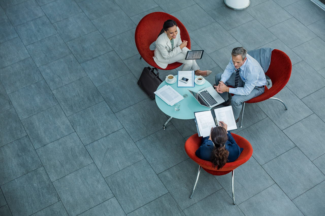 group in office