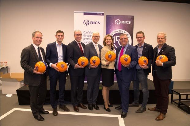 RICS CEO and President with Dutch professionals