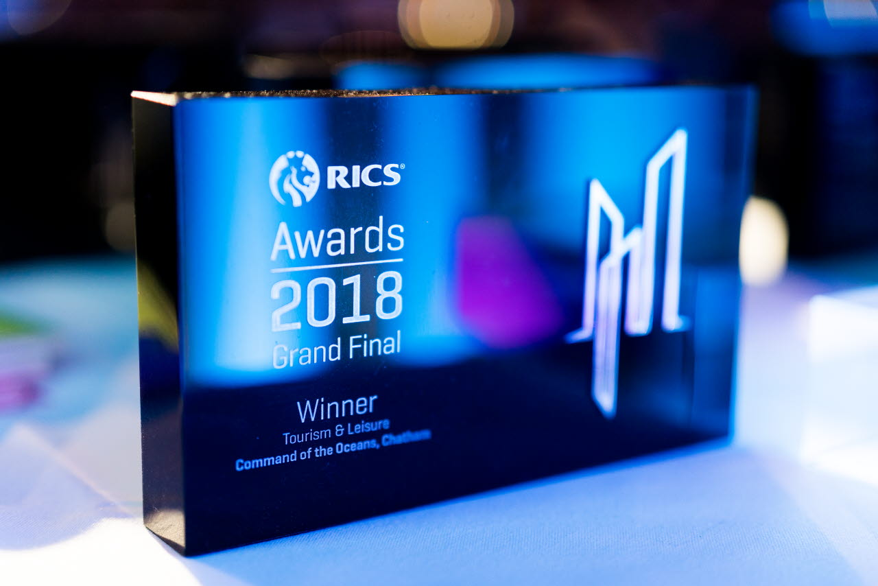 Category trophy-Awards Grand Final-RICS