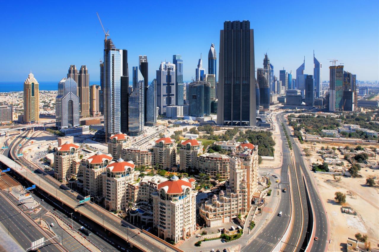 Dubai-skyline-shutterstock