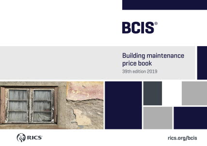 BCIS Price Books 2018 / 2019