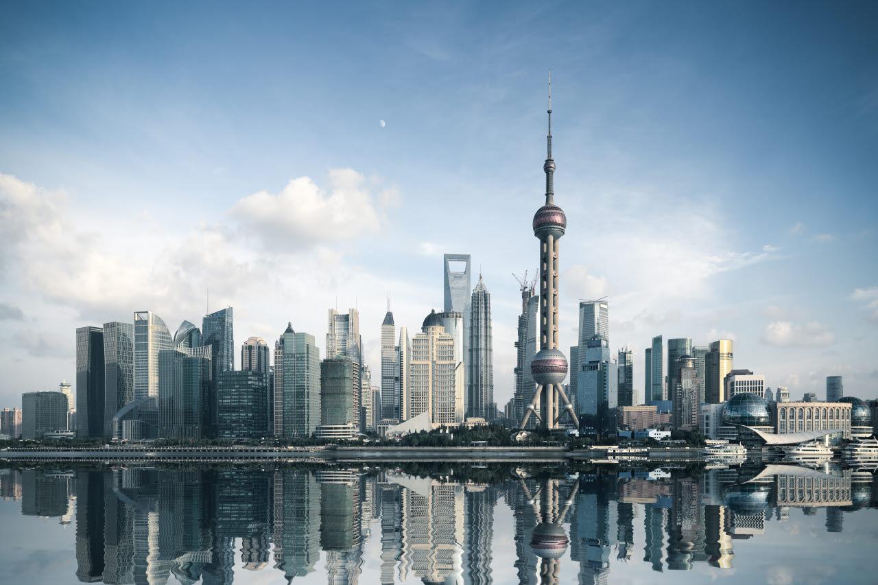 skyline, Shanghai, building, 230118, SB