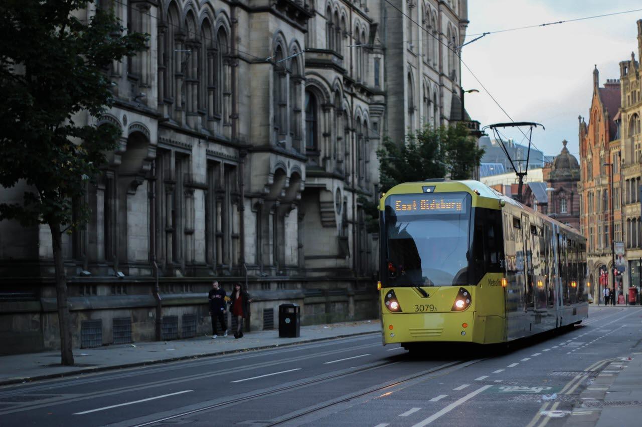 Manchester tram-unsplash