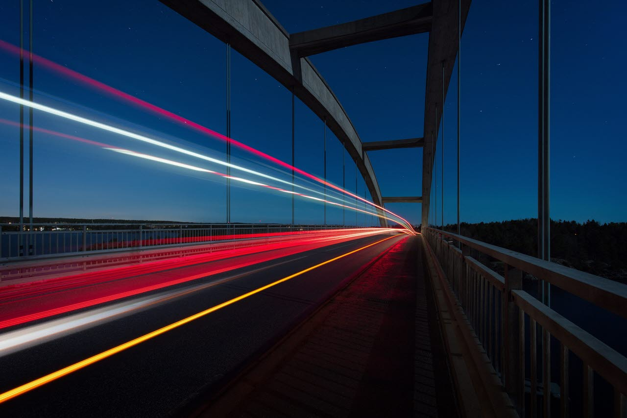 Image of timelapse on bridge