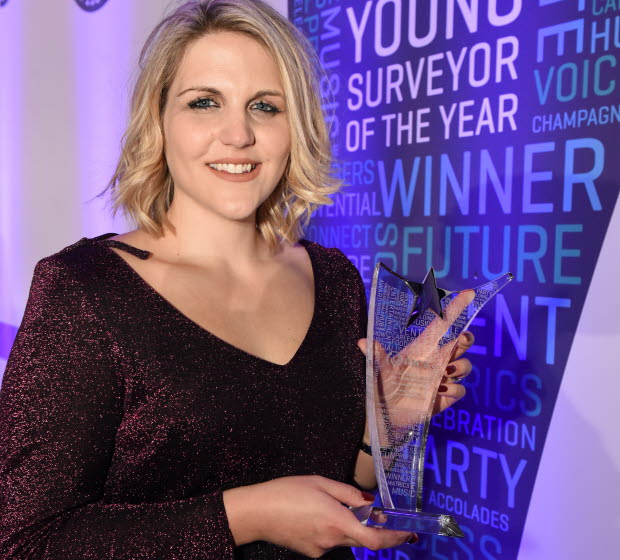Laura Collins, Young Surveyor of the Year