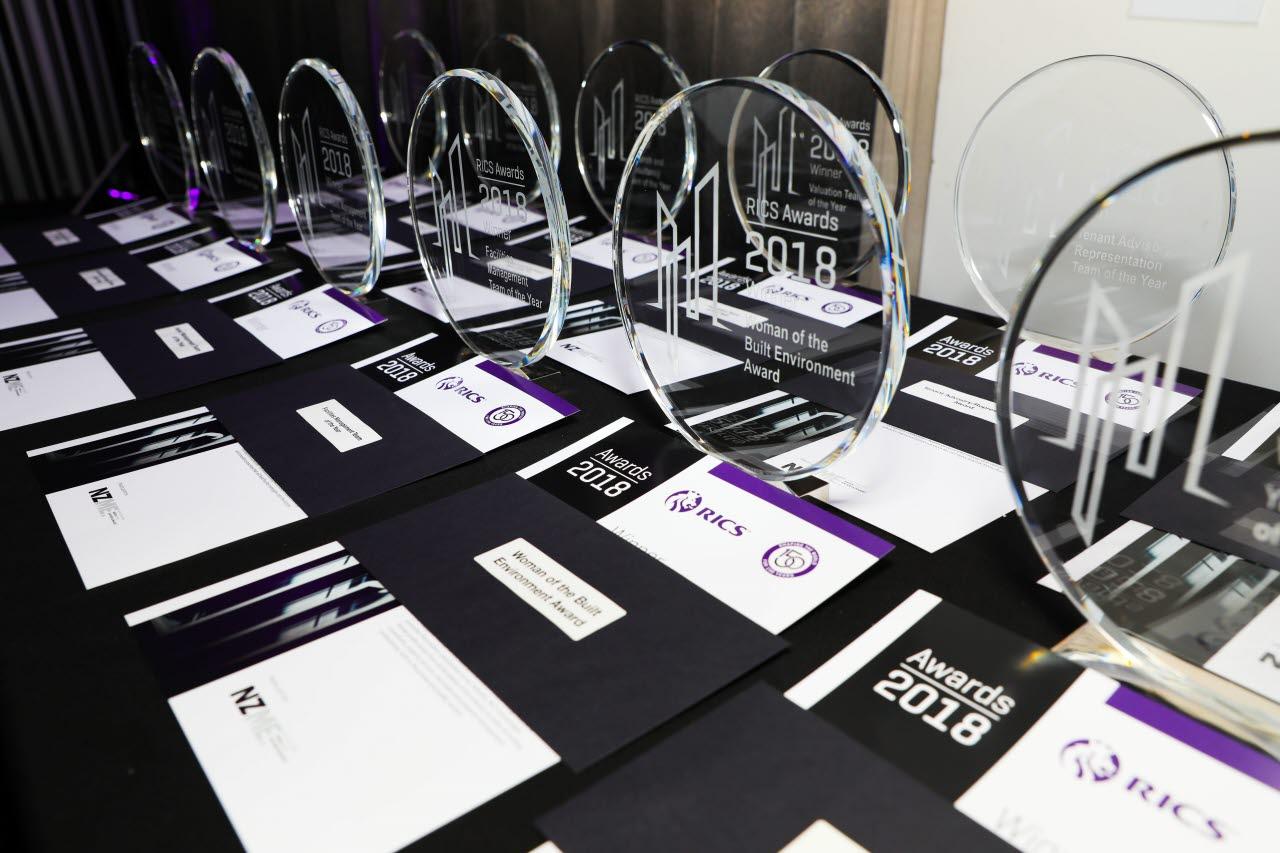 RICS Awards New Zealand 2018 tophies.jpg