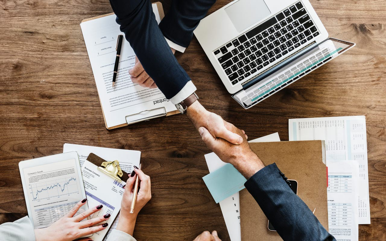 Business collaborate and flourish
