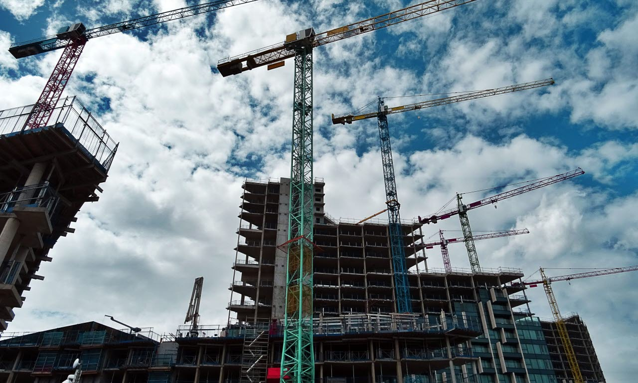 sky, construction site, scaffolding, RICS, SB, 310118