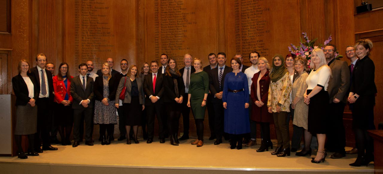 RICS Fellows group photo London