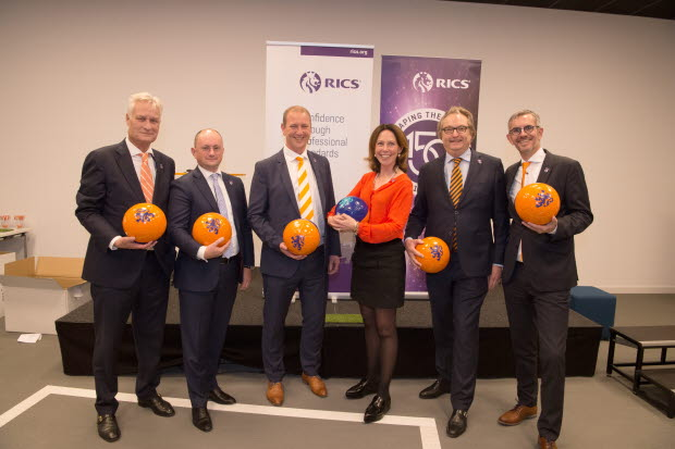 RICS Dutch professionals celebrating 150th anniversary with staff