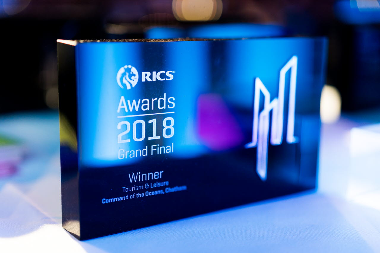 Category trophy-Awards Grand Final-RICS
