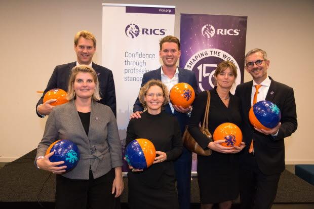 RICS Dutch professionals at RICS 150th celebration