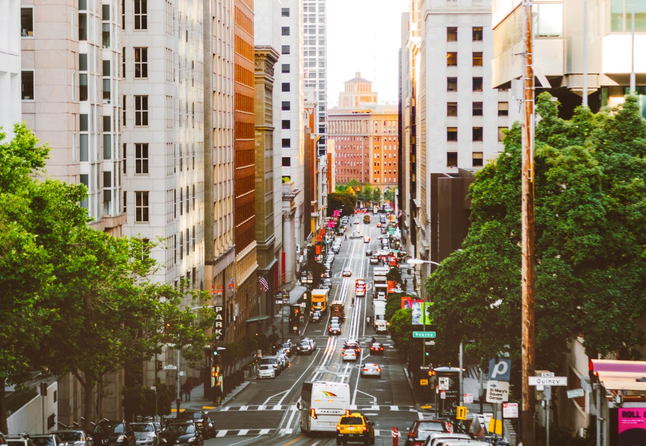Picture of san francisco streets