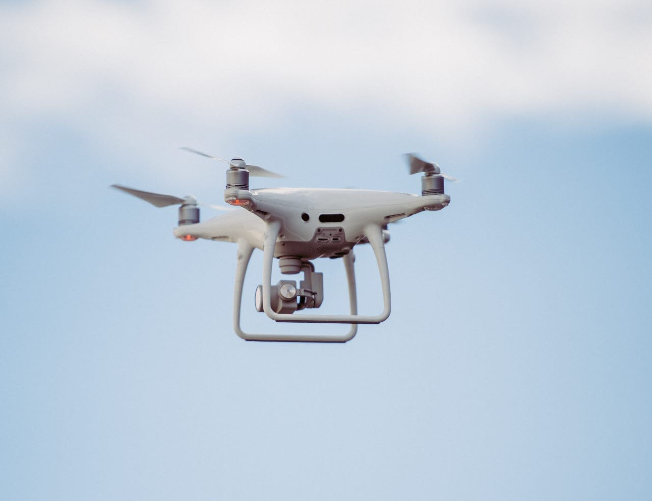 Picture of a drone in mid-air