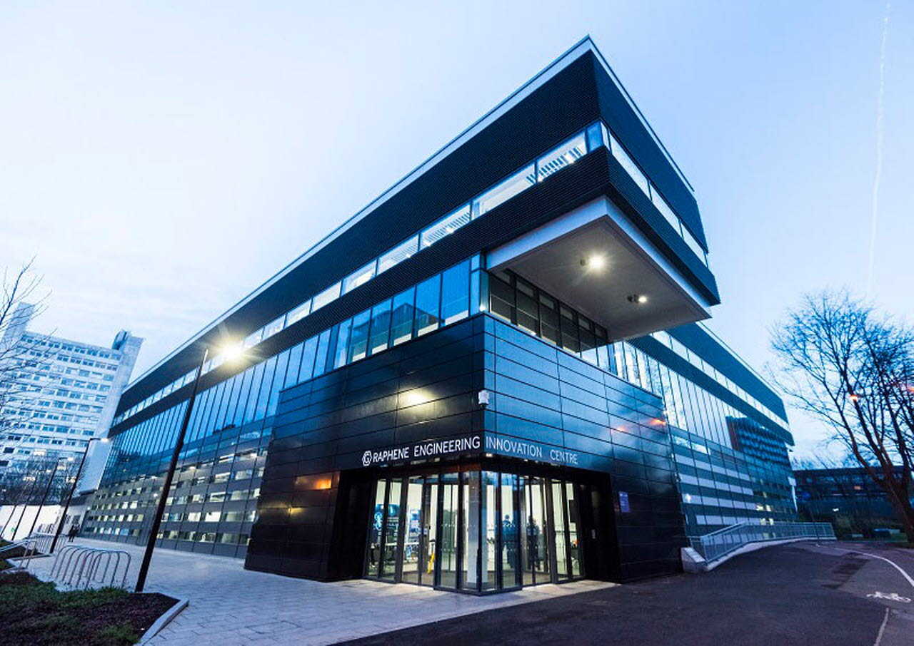 Graphene Engineering Innovation Centre-RICS