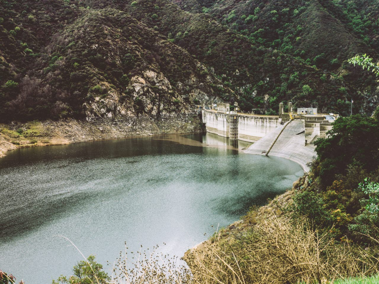 Picture of a tailings dam