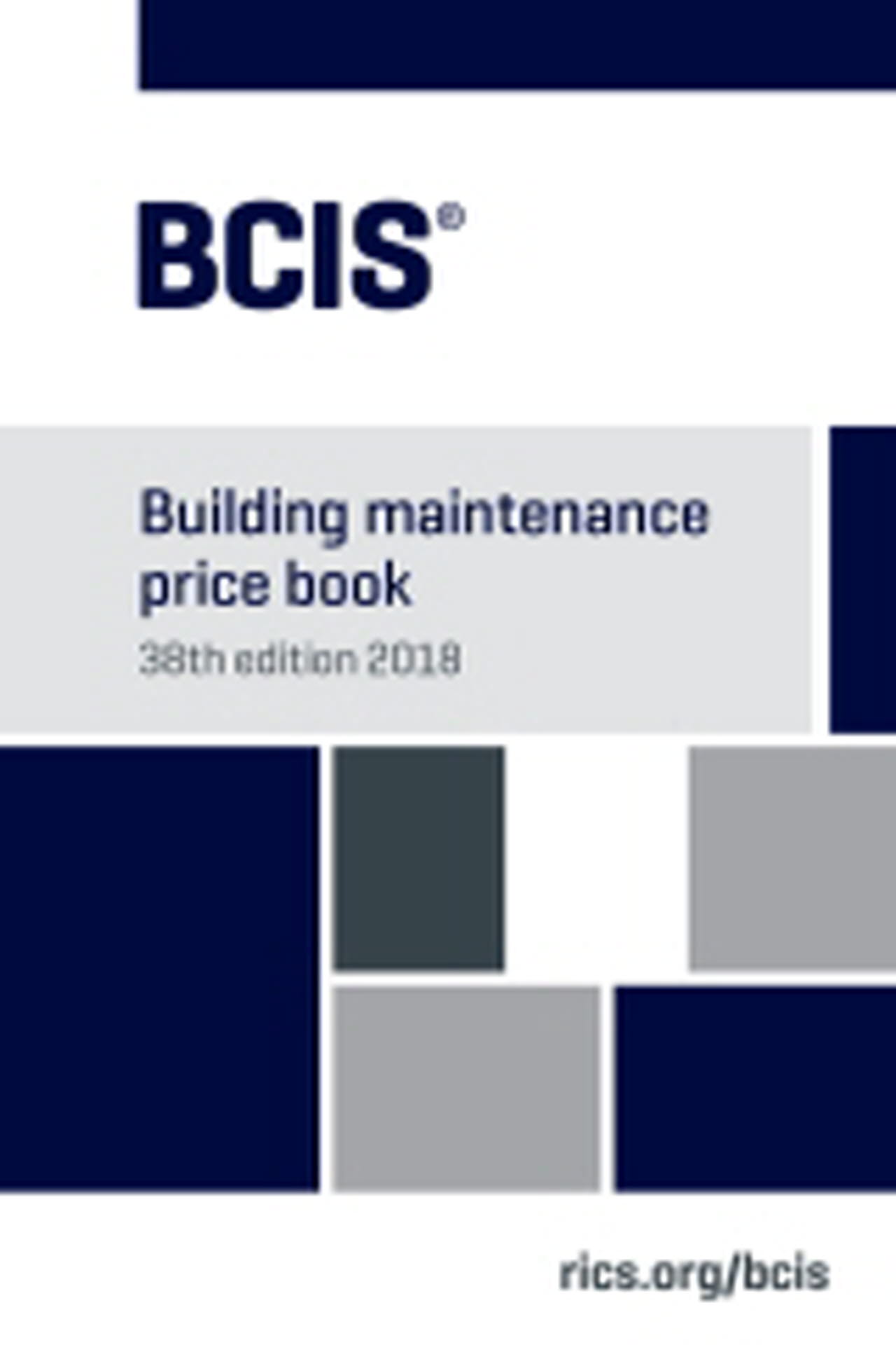 Buildign Maintenance Price Book