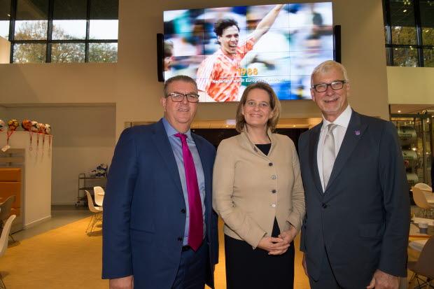 RICS CEO, Dutch Board Chair and RICS President