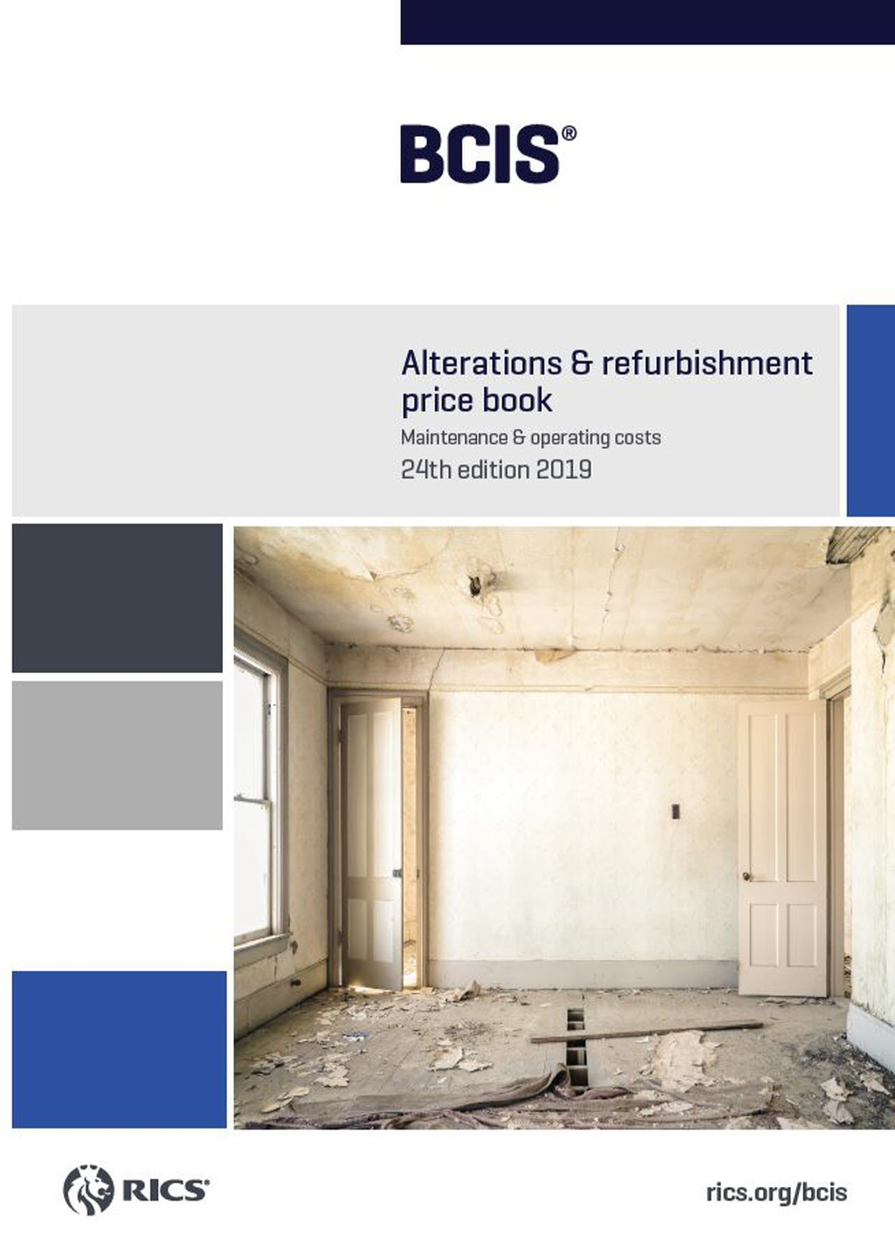 BCIS Alterations and Refurbishment Price Book 2019