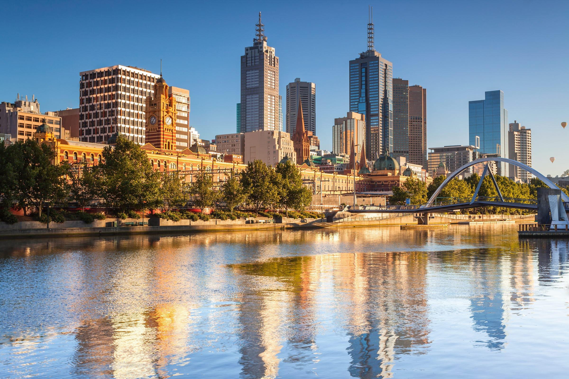 Melbourne-Australia-Skyline-Shutterstock
