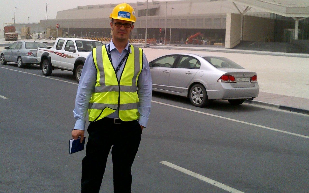 Fadil at Doha Airport Catering Facility