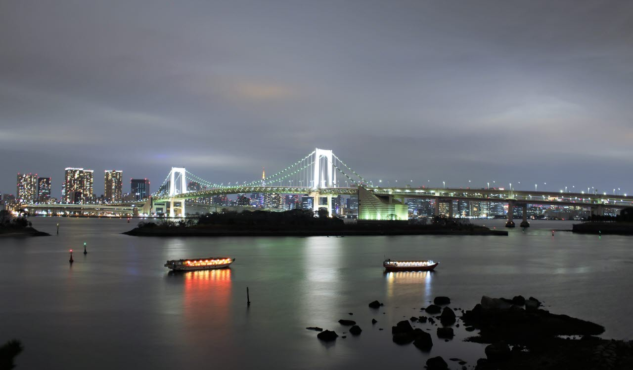 Tokyo riverside