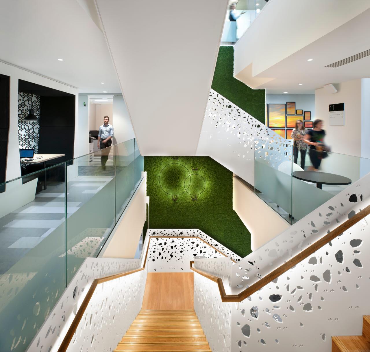 Deloitte interior building