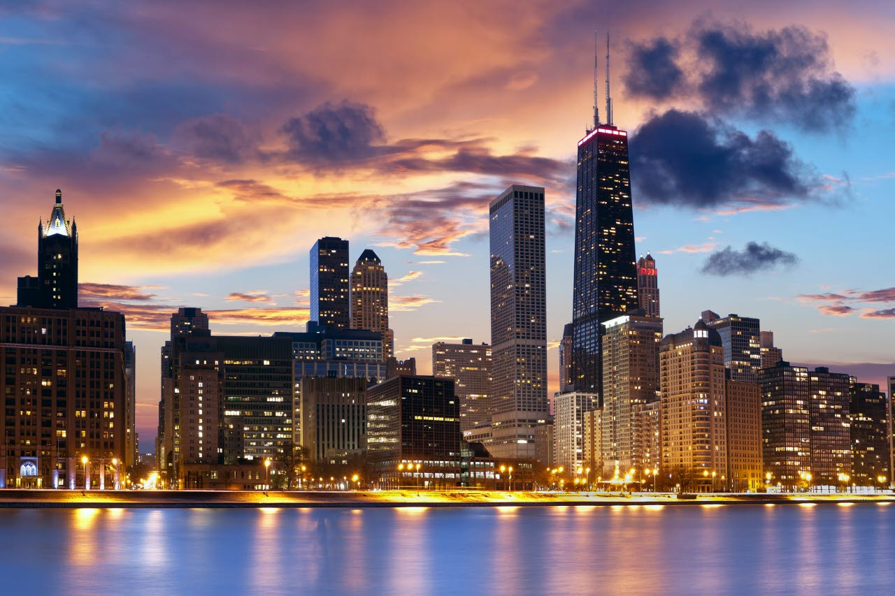 Chicago-Skyline-USA-Shutterstock