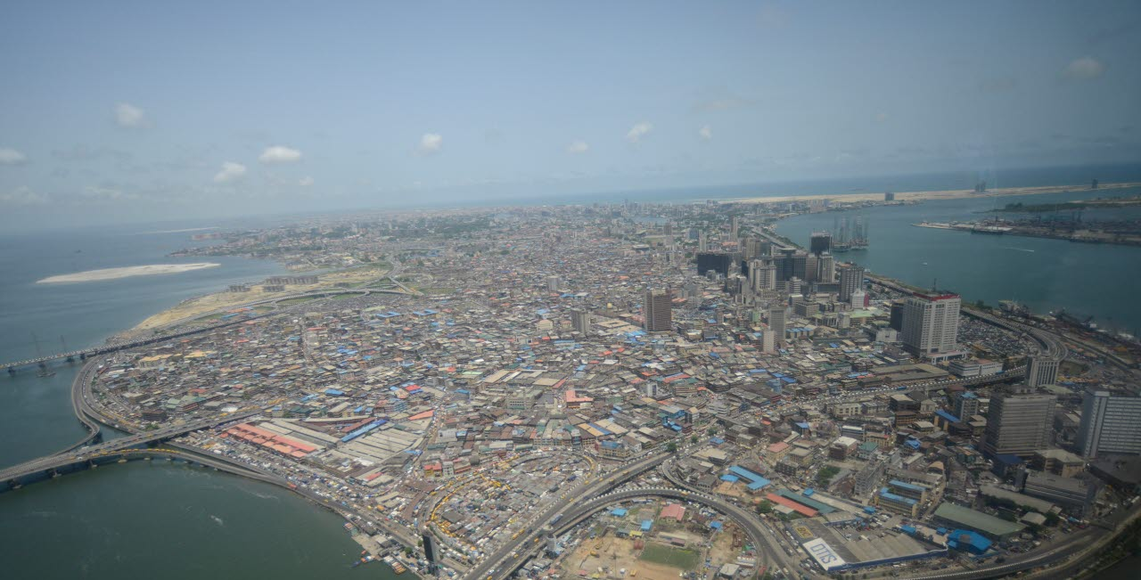 Lagos, Nigeria, Africa, Surveying