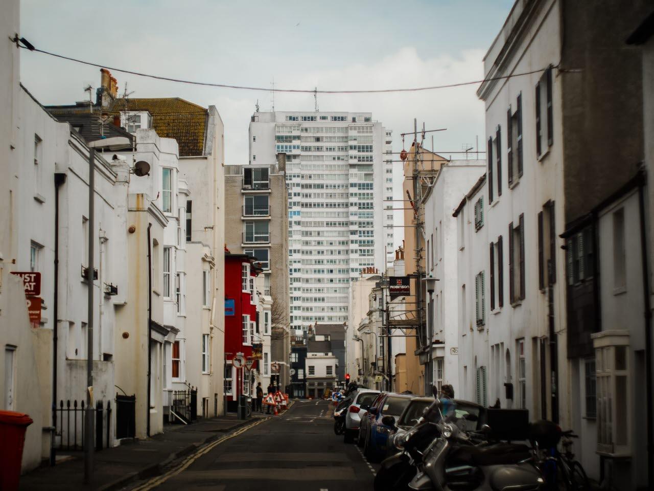 Residential houses in Brighton