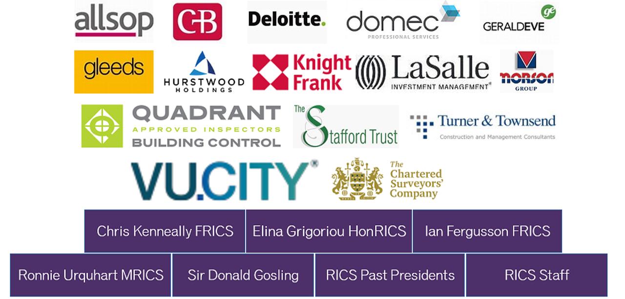 Pledge 150 sponsors logos