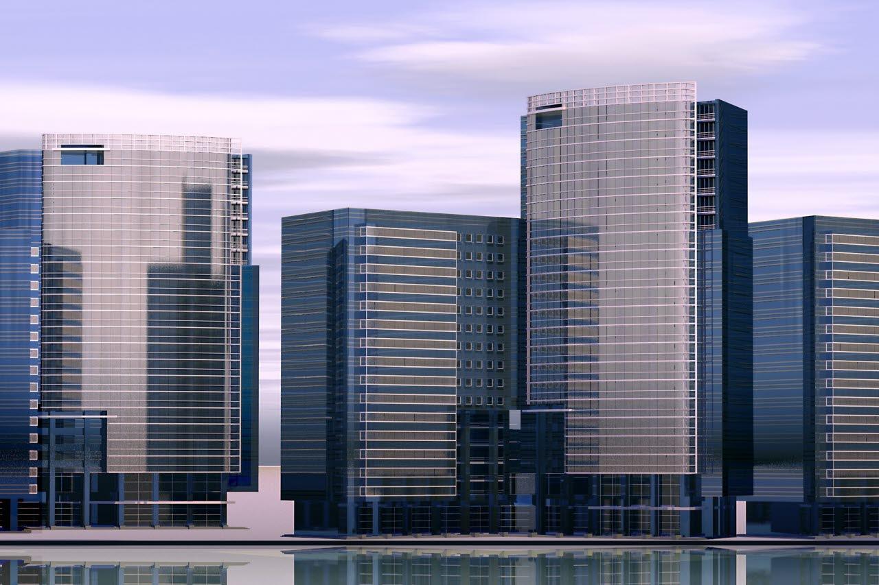 Modern skyline